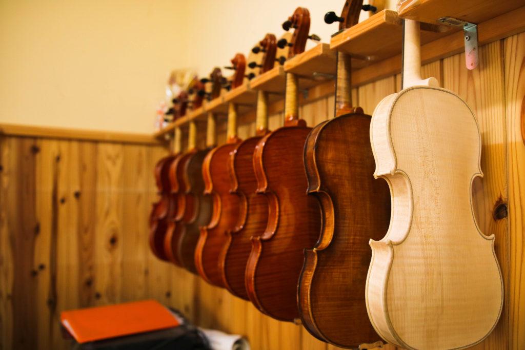 【高橋バオイオリン工房】ヴァイオリン