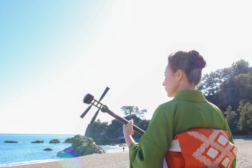 三味線奏者 田村花織