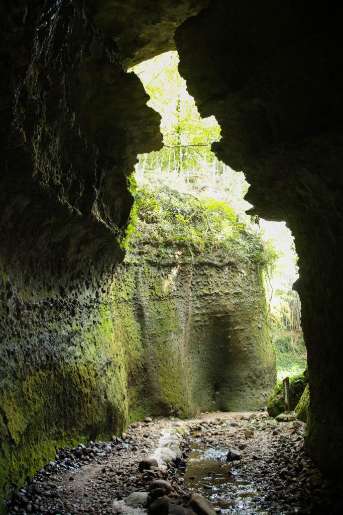伊尾木洞|洞窟内