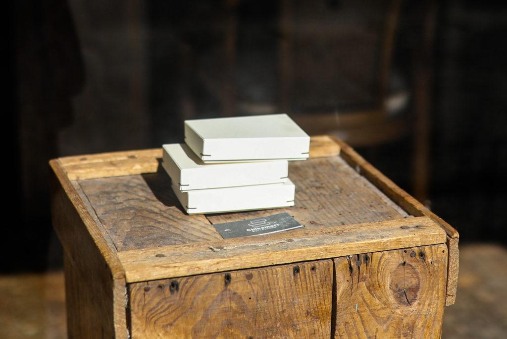 角留め箱を作るchikamori(チカモリギフト)