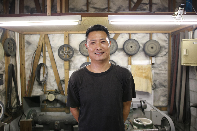 刃物業界の常識を覆したい。田所刃物 / 研ぎ師 田所 真琴
