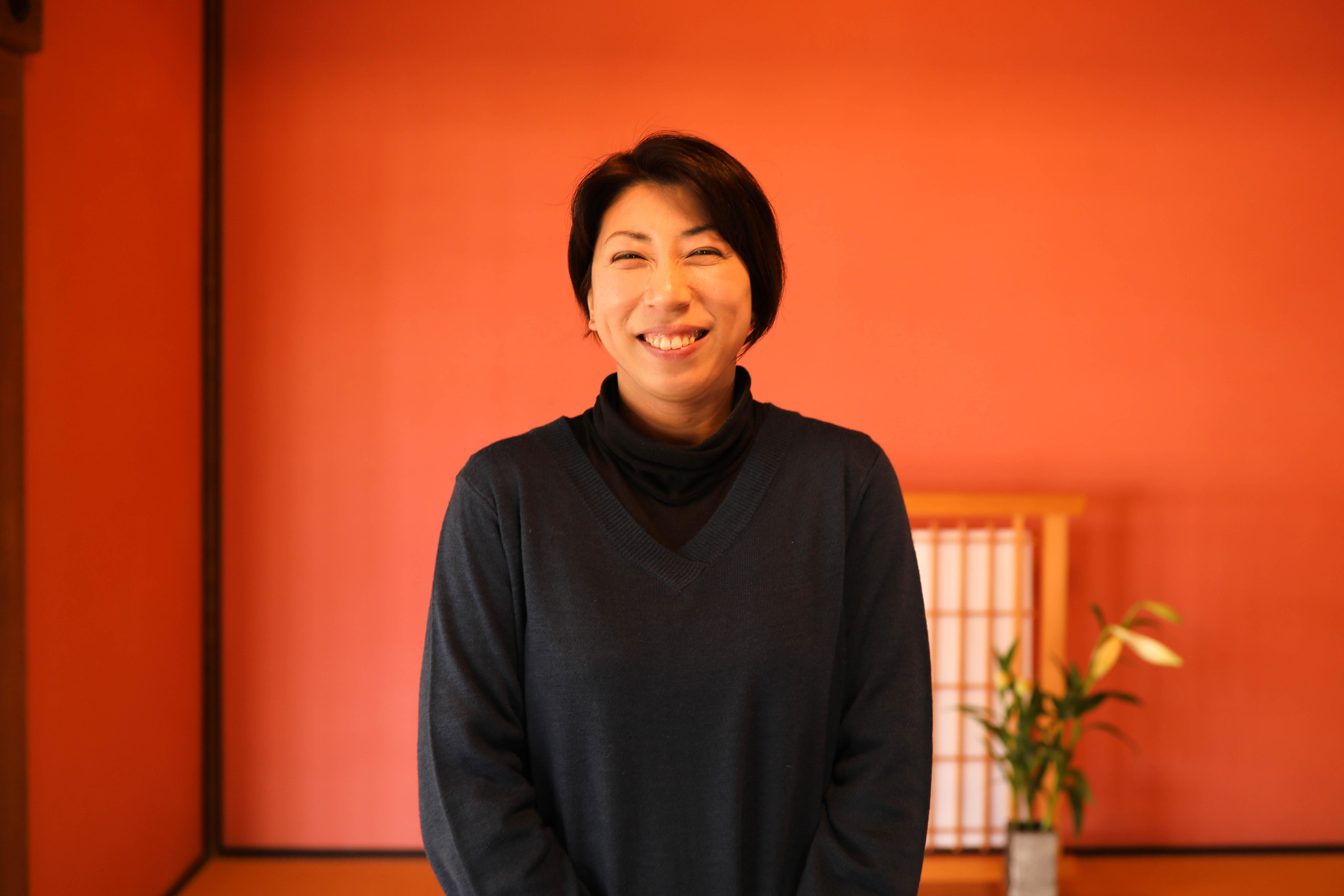 土佐茶PRの先頭を行く「日本茶インストラクター 」柿谷奈穂子