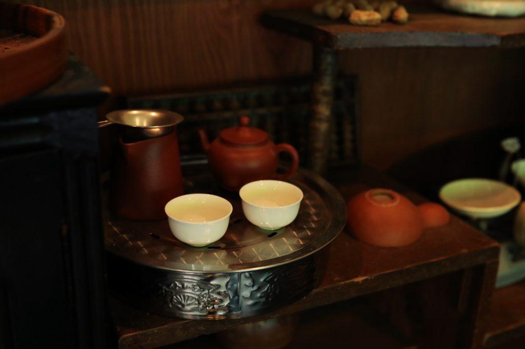 高級中国茶 専門店 バンブー茶館