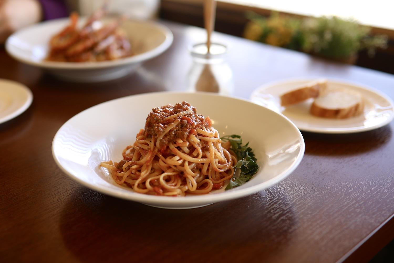 三日月キッチン|高知市・本格的な生パスタを堪能できるレストラン