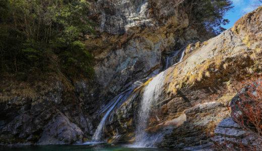 アメガエリの滝|土佐町・瀬戸川渓谷の巨瀑!マイナスイオン溢れるパワースポット