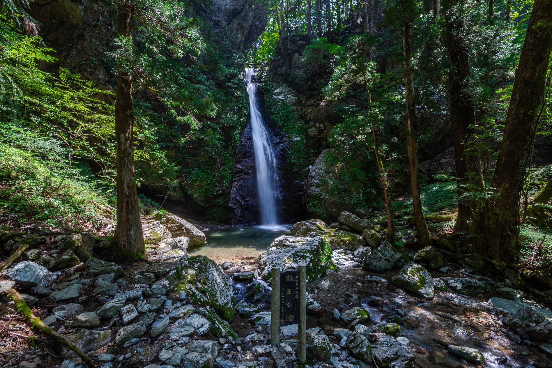 龍王の滝(Ryuonotaki) 神秘の滝!日本の滝百選に選ばれた大豊町の名爆